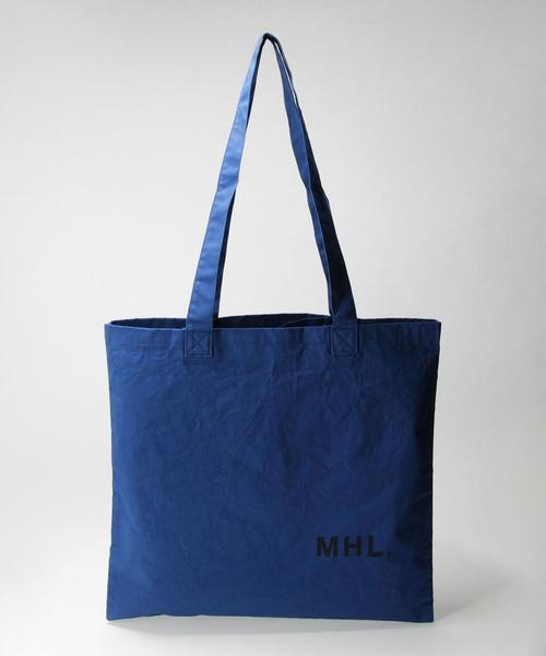 【別注】 <MHL.> MARIN TOTE/トートバッグ