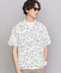 BY VARIOUS/P オープンカラー シャツ