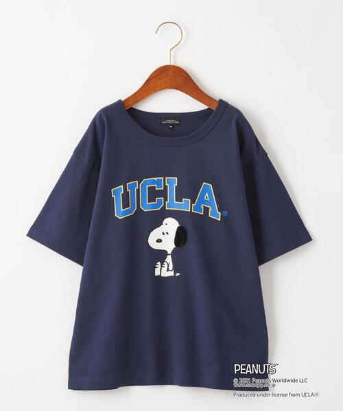 【別注】EX TJ UCLA×PEANUTS スヌーピー/ Tシャツ 140-150cm