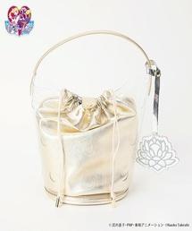 【25周年記念】美少女戦士セーラームーン×Casselini クリアバケットバッグ(ハンドバッグ)