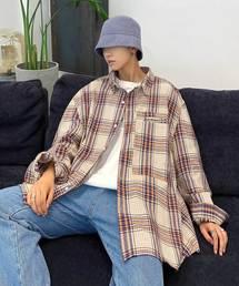 neos(ネオス)の【neos -addictive design-】ビッグシルエット  ロングスリーブ タータン チェックシャツ(シャツ/ブラウス)