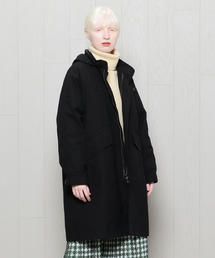 <MHL.>HIGHCOUNT COTTON HOODED POPLIN COAT/コート