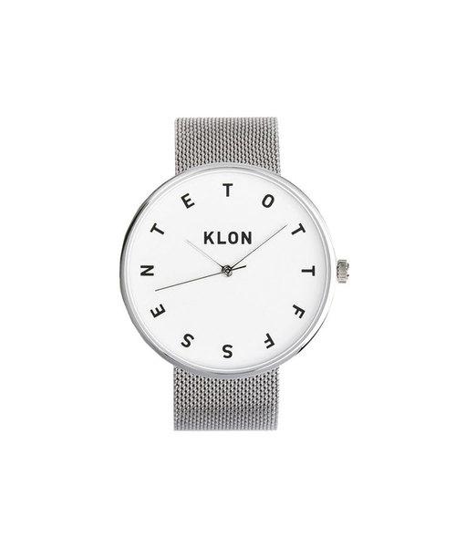 直送商品 KLON ALPHABET TIME -SILVER MESH- 40mm(腕時計) -SILVER|KLON(クローン)のファッション通販, amax:b2dc139f --- blog.buypower.ng