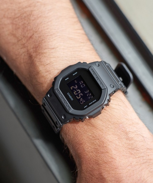 G-SHOCK DW-5600BB-1JF (ジーショック )(BLACK)(腕時計)