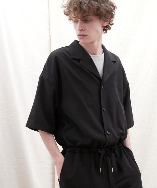 ドレープファブリックオーバーサイズジャンプスーツ【EMMA CLOTHES/エマクローズ】2021