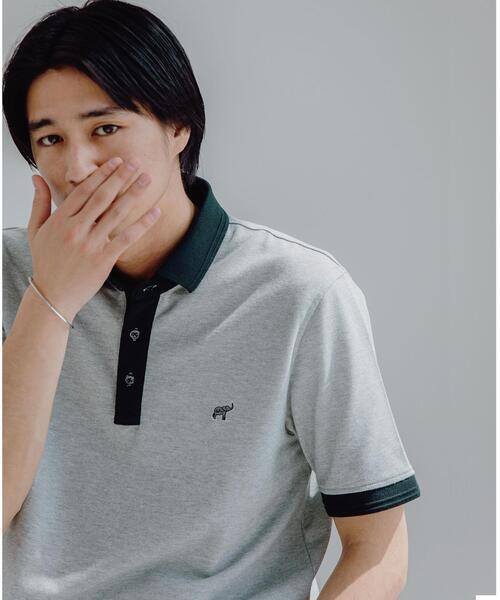 【 WEB限定 】 < 機能性 / 吸水速乾・抗菌 > ★★ D/C コンビカラー ポロシャツ