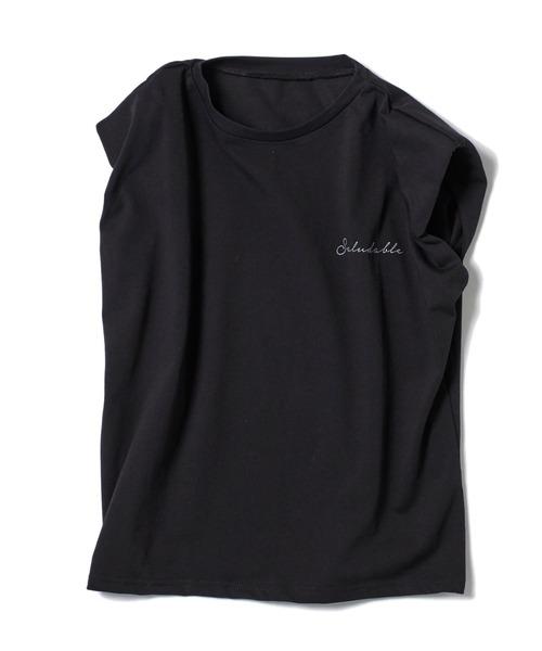 ショルダーパッドTシャツ