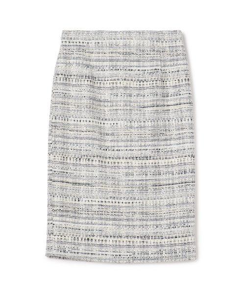 2019超人気 ESTNATION / ミックスツイードタイトスカート, R-Style 33e2989f
