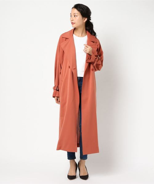 低価格 【ブランド古着】トレンチコート(トレンチコート)|AMERI(アメリ)のファッション通販 - USED, 【希少!!】:2ce31219 --- kralicetaki.com