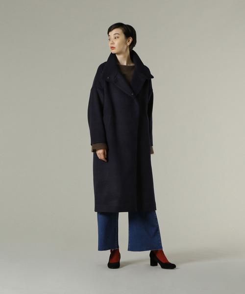 【新品、本物、当店在庫だから安心】 スタンドカラーコート(その他アウター) TRISTESSE|ADIEU TRISTESSE ADIEU LUXE(アデュートリステスリュクス)のファッション通販, グレイトブルー:82c535c9 --- 5613dcaibao.eu.org