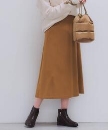 ◆FFC フェルト ジャージー フレア スカート
