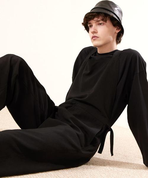 オーバーサイズサイドロープドレープオーバーオール【EMMA CLOTHES/エマクローズ】2021