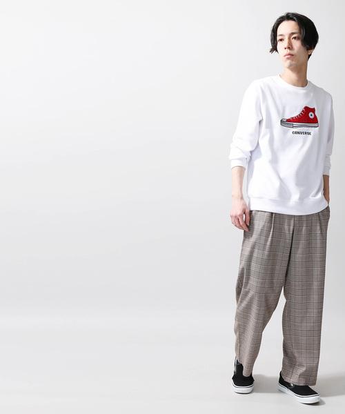 ∴WEGO/コンバース別注サガラシューズ刺繍プルオーバー