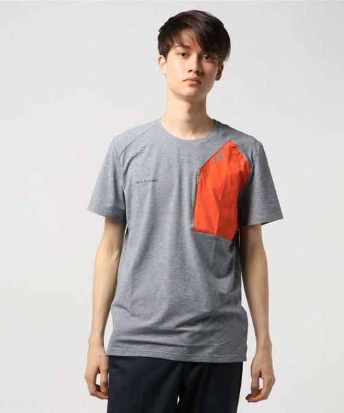 クラッシャーノ ポケット Tシャツ メンズ  Crashiano Pocket T-Shirt Men 1017-00920