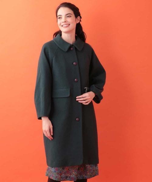 ファッションなデザイン ウールモッサロングコート(ステンカラーコート)|Jocomomola(ホコモモラ)のファッション通販, 最安価格:f928fb00 --- 5613dcaibao.eu.org
