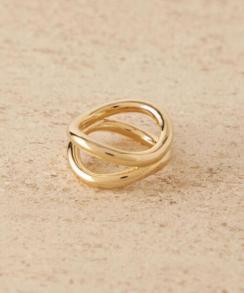 <CITEN(シテン)>ニュアンス ダブルライン リング / 指輪