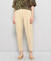 <H>CORDUROY TUCK TAPERED PANTS/パンツ <br>