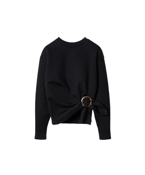 Buckle Detail Sweatshirt