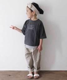CIAOPANIC TYPY(チャオパニックティピー)の【ファミリーおそろい】ピグメントTee(Tシャツ/カットソー)