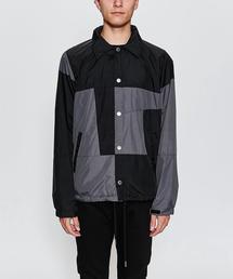 <CLOT> COLORBLOCK JACKET/コーチジャケット
