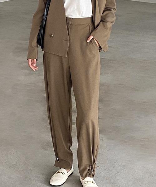 【chuclla】Drawstring set up squeeze pants sb-4 chw1171