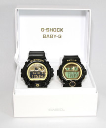 Gショック × ベビーG ペアモデル G-SHOCK × BABY-G Pair Model / DW-6900CB-1JF × BG-6901-1JF(腕時計)