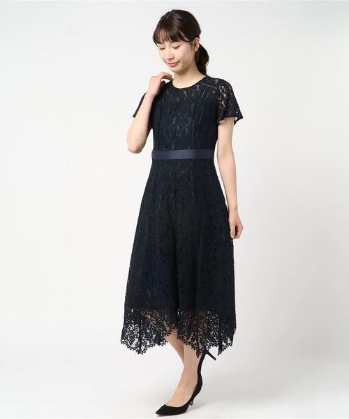 bad5cdc261a07 MEW S REFINED CLOTHES(ミューズ リファインド クローズ)のコードレースドレス(ドレス)