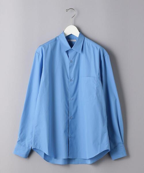 <UNITED ARROWS> トーマスメイソン レギュラーカラーシャツ
