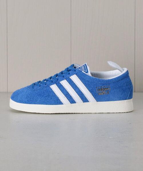<adidas>GAZELLE VINTAGE BLUE/スニーカー.