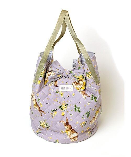 ミミ·モザ·ラビットプリントバッグ