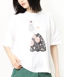 ∴【GRANDMA MAMA DAUGHTER / グランママドーター】10周年 プレミアムTシャツ TC 2035041ホワイト