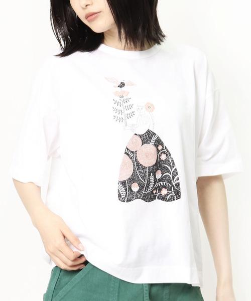 ∴【GRANDMA MAMA DAUGHTER / グランママドーター】10周年 プレミアムTシャツ TC 2035041