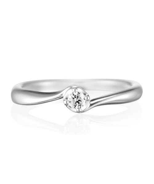 上品 K10ホワイトゴールド ダイヤモンドリング(リング)|4℃(ヨンドシー)のファッション通販, 南条郡:6e72963b --- rise-of-the-knights.de