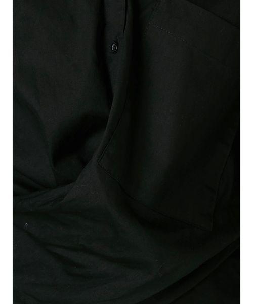 ツイストウエストマークシャツ