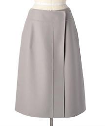 Drawer ウールケヌキラップスカート