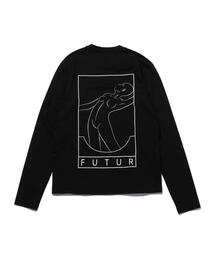 <FUTUR> LOGO LS TEE/Tシャツ □□