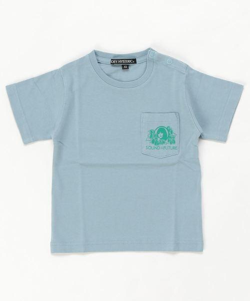 SOUND OF THE FUTURE ポケット付きTシャツ【XS/S/M】