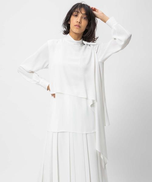 DOUBLE STANDARD CLOTHING(ダブルスタンダードクロージング)の「Sov. / HIGH MULTI DOUBLE STRETCHI(シャツ/ブラウス)」|オフホワイト