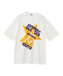 UNTAMED YOUTH DIARY オーバーサイズTシャツホワイト