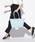 Samantha Thavasa Deluxe(サマンサタバサ デラックス)の「デイジー柄ショルダーポーチ付きベルトデザイントート◆(トートバッグ)」|ライトブルー