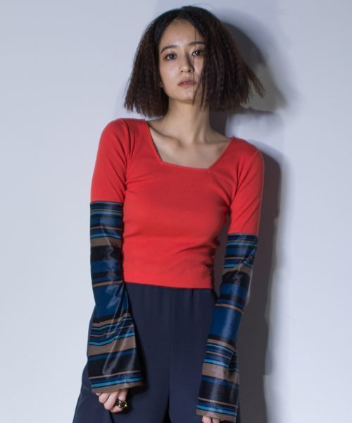 人気絶頂 MIX COLOR SHORT SHORT COLOR TOPS(Tシャツ/カットソー)|hulis(ヒュリス)のファッション通販, トイショップ まのあ:f0e158d1 --- kredo24.ru