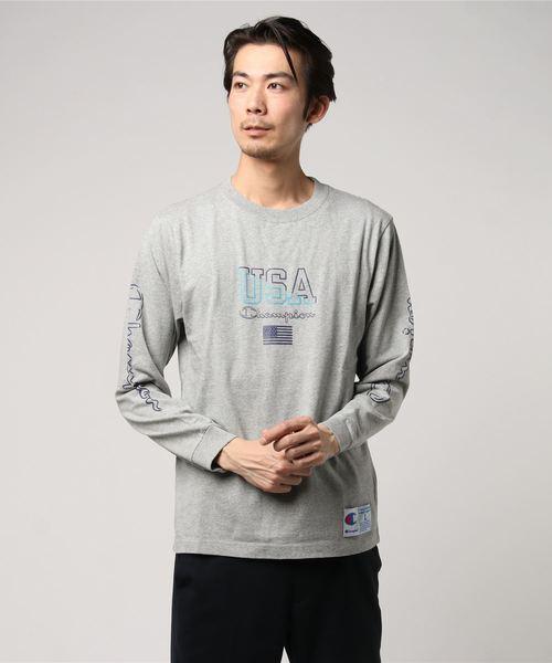 Champion/チャンピオン/LongSleeve T-Shirts (C3-M413)
