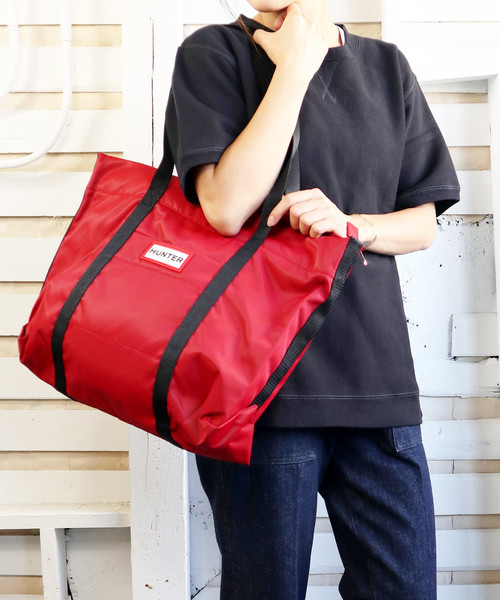 【HUNTER/ハンター】ORIGINAL NYLON TOTE HUT