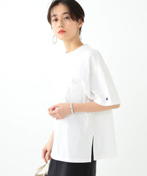 Ray BEAMS(レイビームス)のChampion × Ray BEAMS / 別注 ビッグ ポケット Tシャツ(Tシャツ/カットソー)