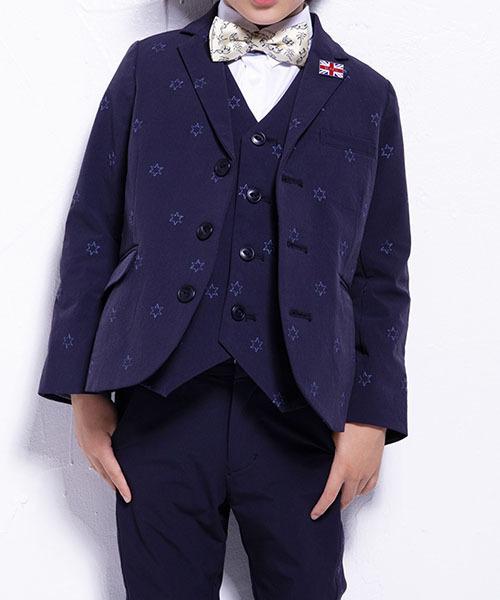 WASK/星刺繍テーラードジャケット(160cm)