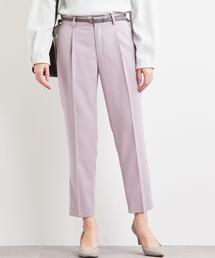 [洗濯可能] ◆D TR タック ベルト パンツ