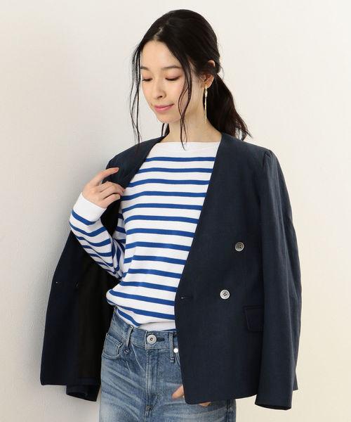 品質満点 【セール for】ノーカラーダブルジャケット(ノーカラージャケット) women for|SHIPS(シップス)のファッション通販, JOYPLUS (ジョイプラス):05d805b0 --- panvelflatsforsale.com
