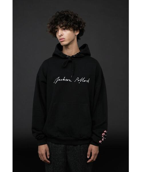 <Jackson Pollock> Directed by <monkey time> SWEAT HOODIE/パーカー