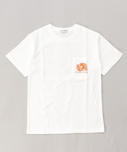 SOUND OF THE FUTURE ポケット付きTシャツ【L】