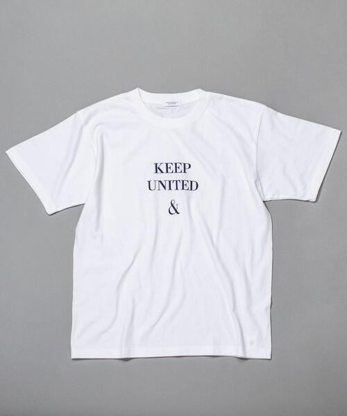 BY KEEP DISTANCE LOGO TEE/Tシャツ